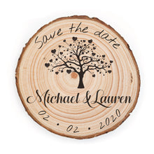 Load image into Gallery viewer, Sample Save the Date - Small / Tree - Save the dates