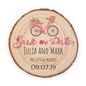 Sample Save the Date - Small / Vintage Bicycle - Save the dates