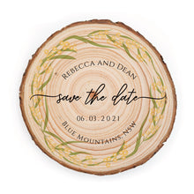 Load image into Gallery viewer, Sample Save the Date - Small / Wattle - Save the dates