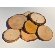 Load image into Gallery viewer, Wood Slice Seconds (100 Pack) - Small Wood Slices