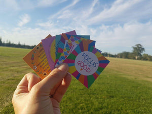 Meditation cards that feature in Hug in a box gift box