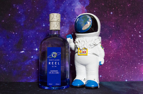 Countdown Gin and spaceman