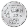 San Francisco World Spirits Compeition Silver Medal 2016