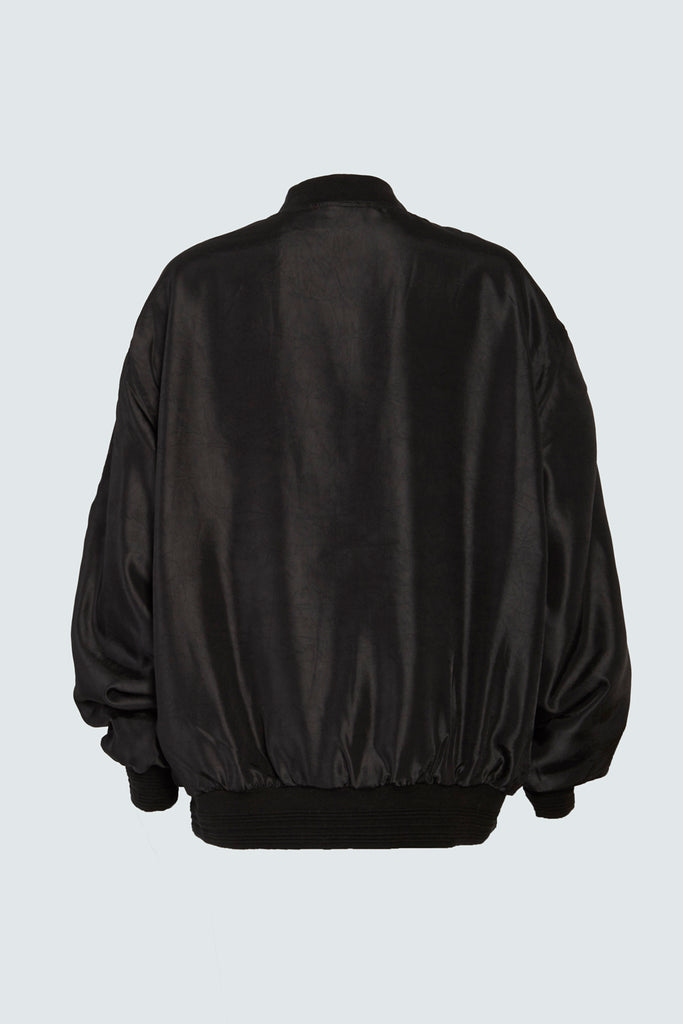 SALOME JACKET | BLACK CRUSH