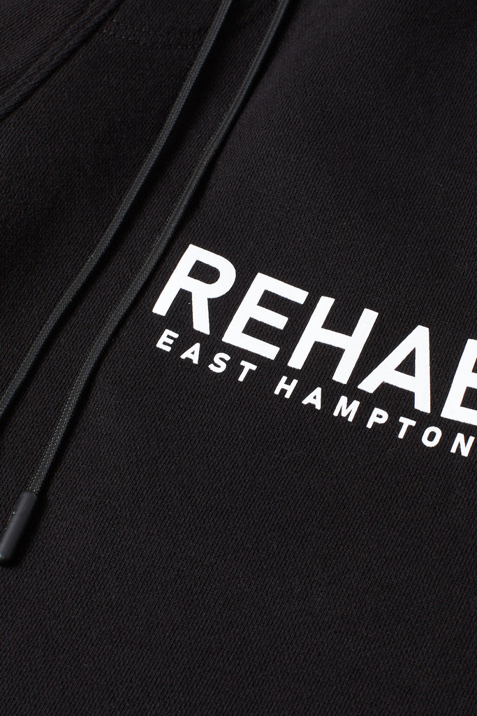 Black Cotton REHAB Sweatpants