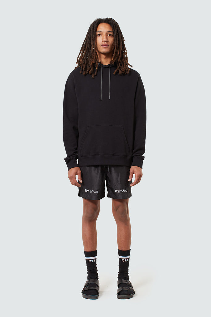 Crushed Black RIP Shorts