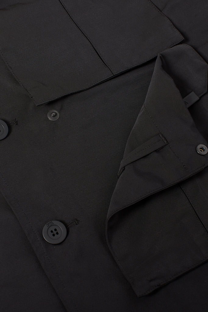 WYATT COAT | BLACK TELEGRAPH