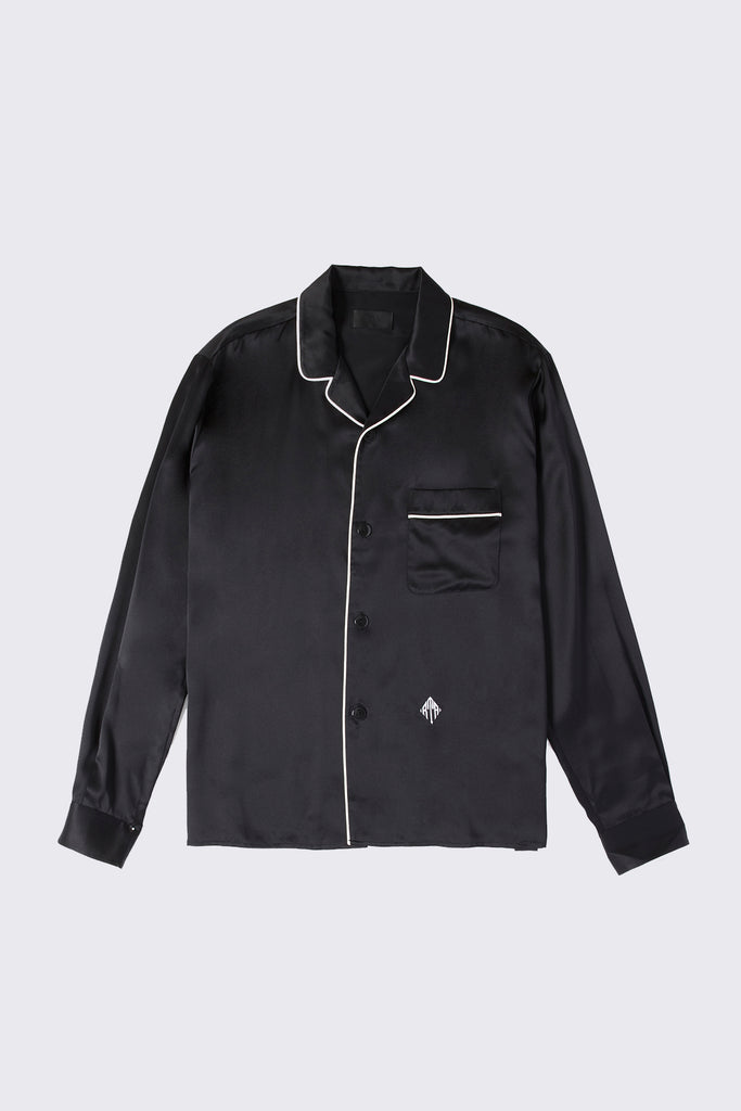 PENN SHIRT | BLACK SILK