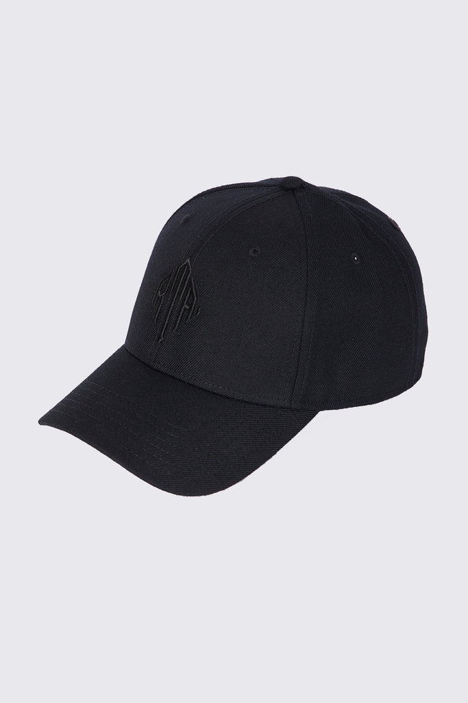 FLINT HAT | BLACK MONOGRAM