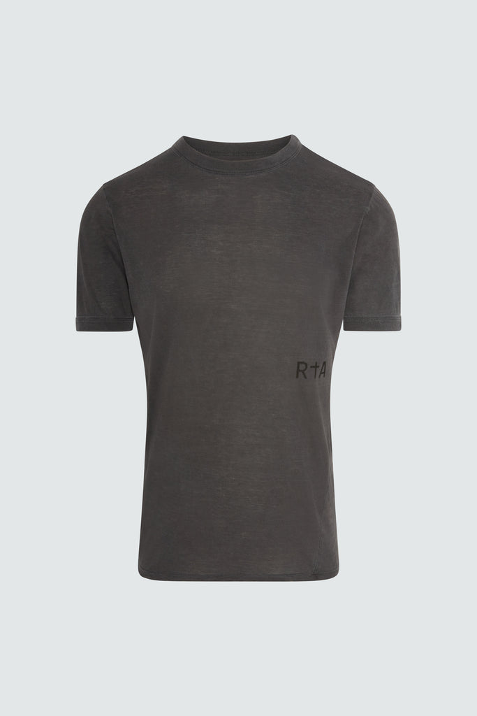 Dark Grey Cotton RtA Side Panel Tee