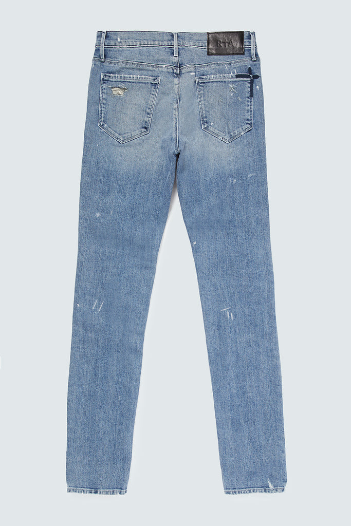 EVERETT JEAN | BLUE SPLATTER HOLES