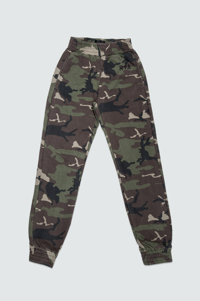 Cotton Camo Sweatpants