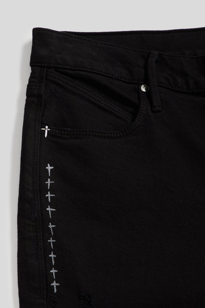 COLLEGIATE 1 JEAN | UNIVERSITY BLACK