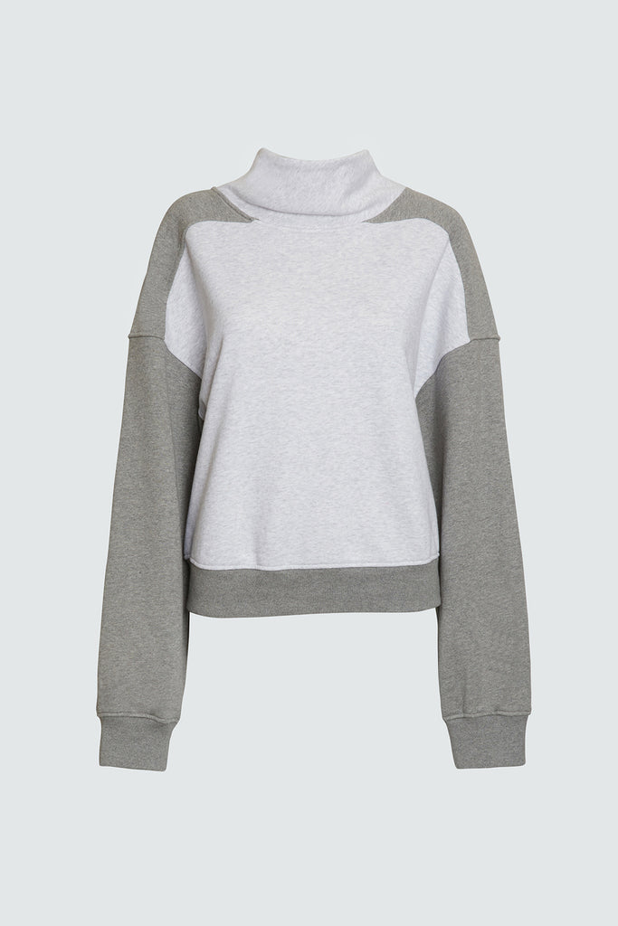 ROBIN SWEATSHIRT | MIX GREY