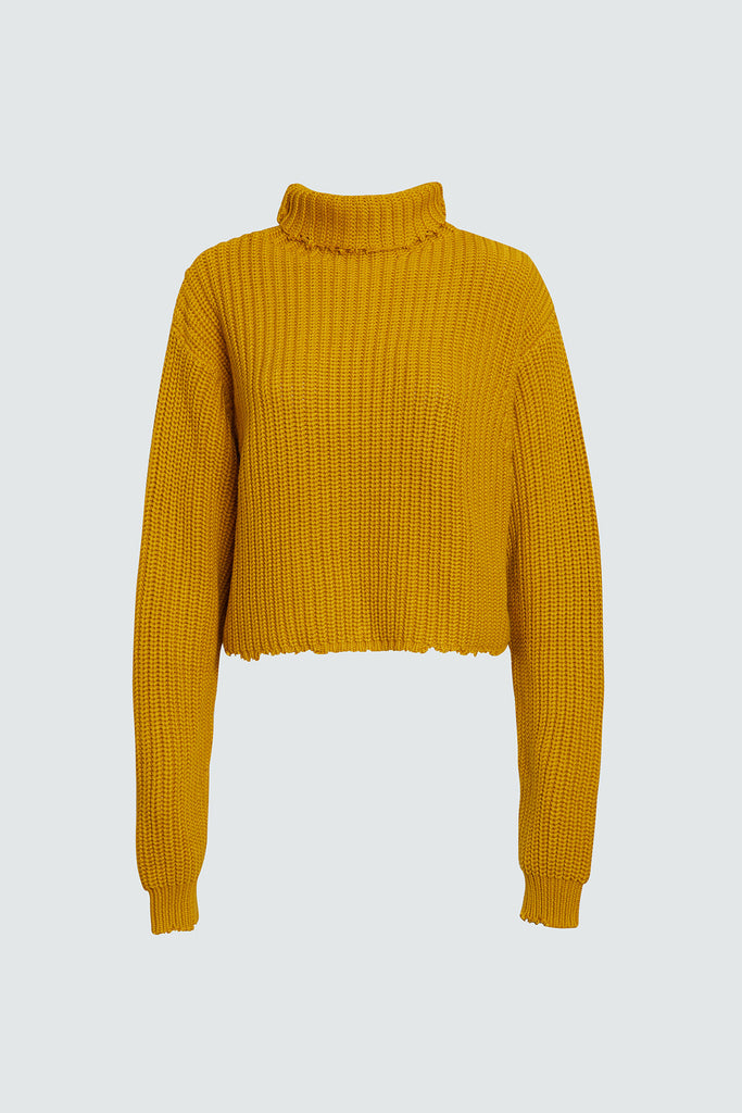 BEAU SWEATER | MUSTARD
