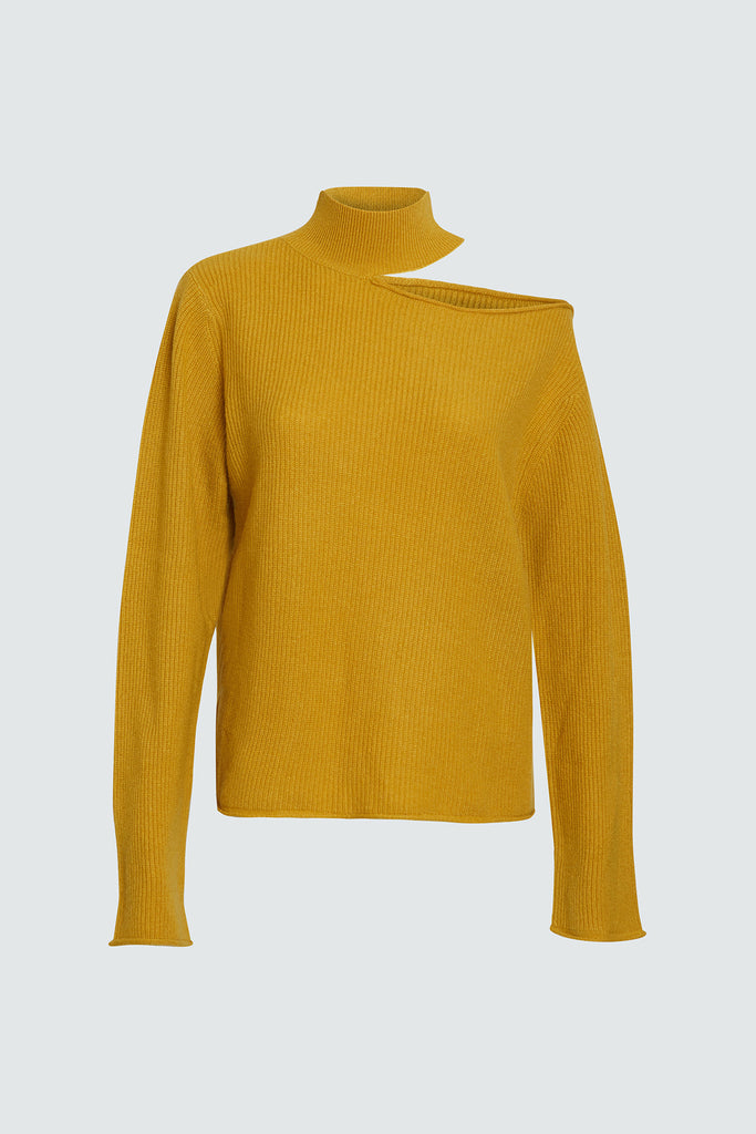 LANGLEY SWEATER | MUSTARD