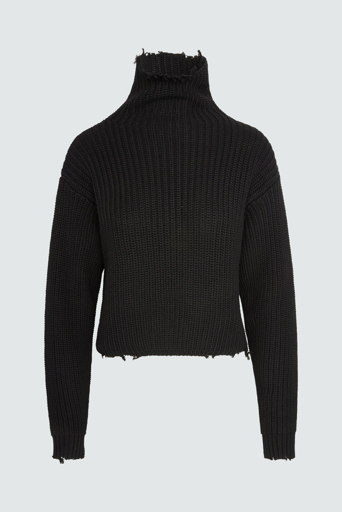 BEAU SWEATER | BLACK