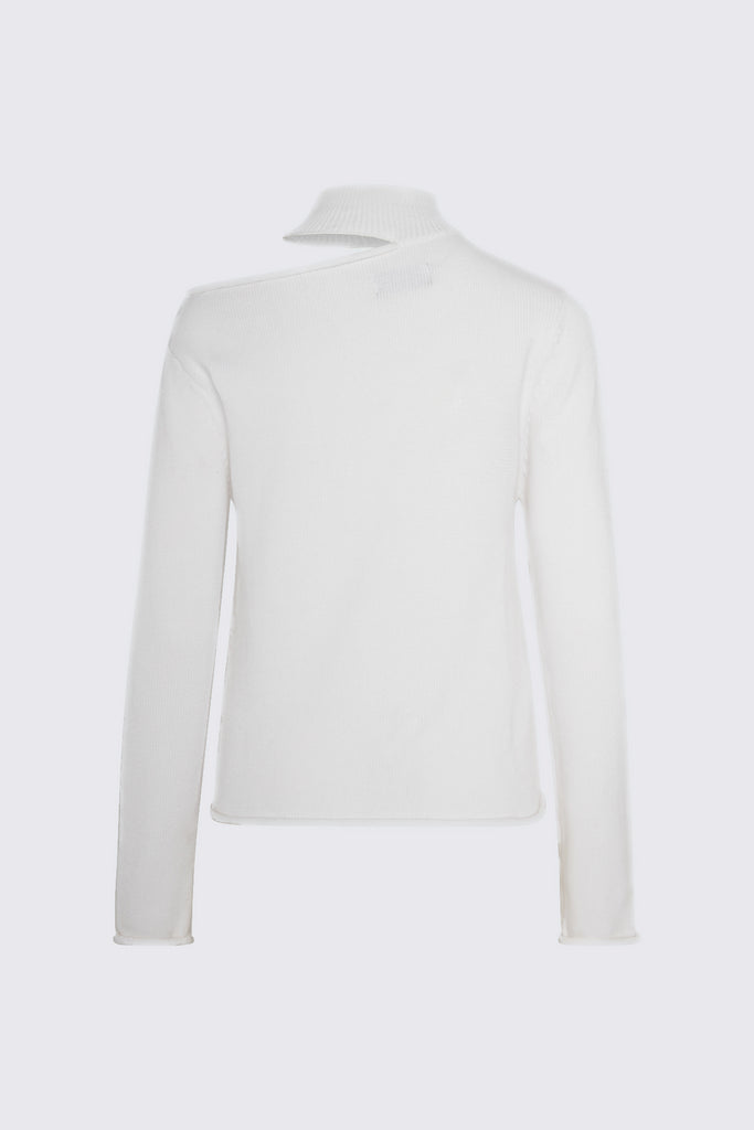 LANGLEY SWEATER | WHITE
