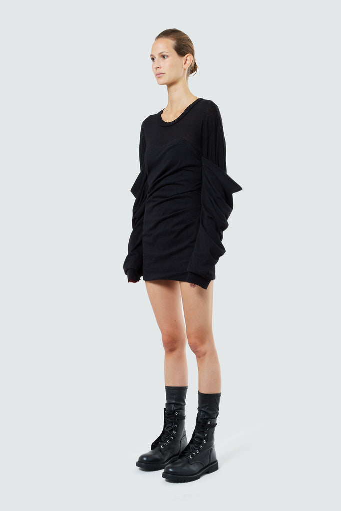 INDYA DRESS | BLACK