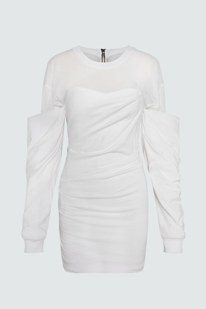 INDYA DRESS | WHITE