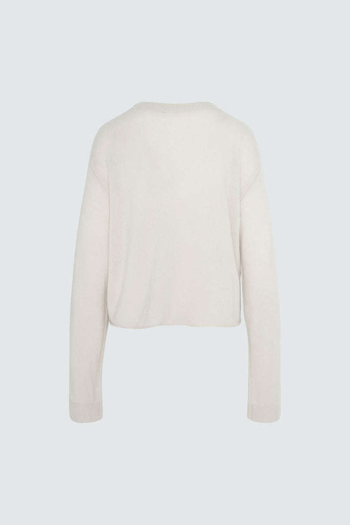 MYLES SWEATER | PURE PARCHMENT