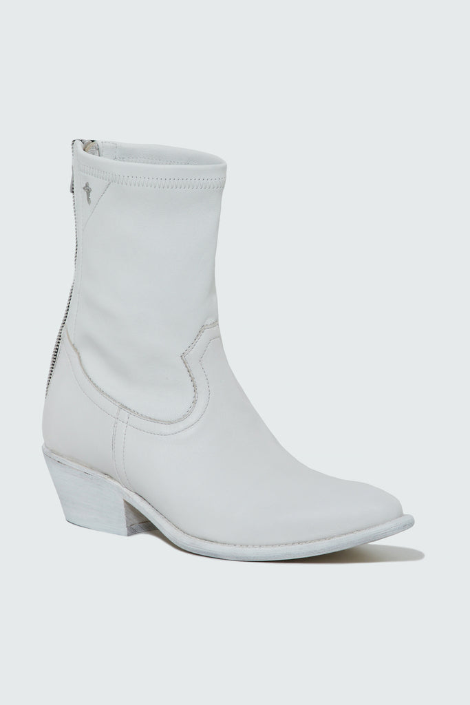 Women's White Leather Boot by RtA Brand