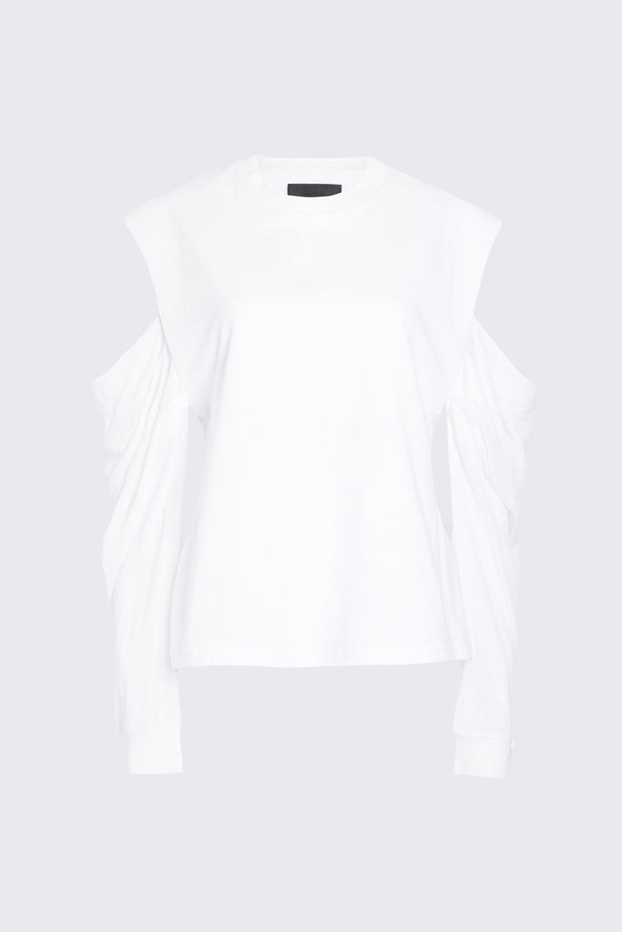 CAPUCINE TOP | WHITE