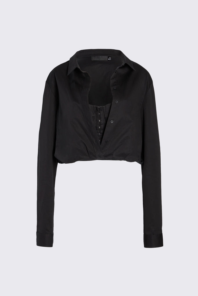 LUDOVICA SHIRT | BLACK