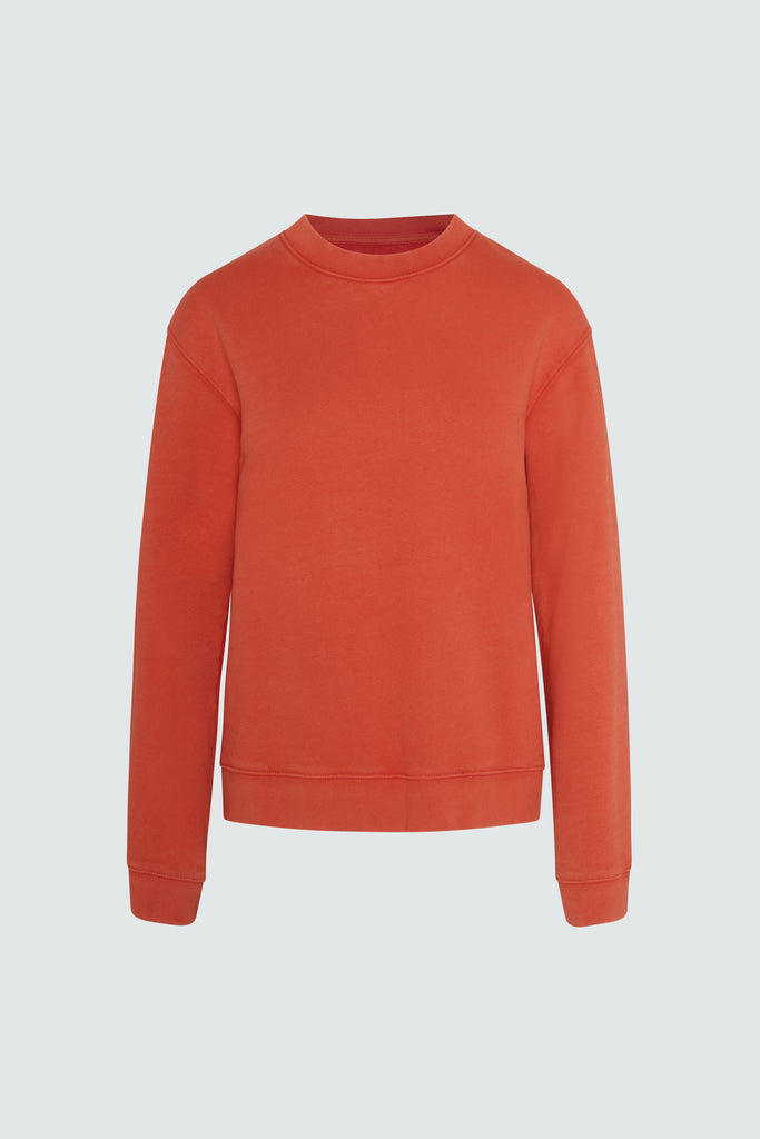 EMILIA SWEATER | FADED ORANGE