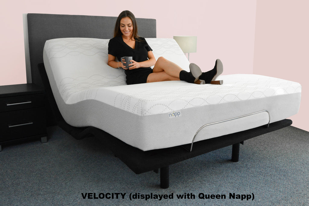 Electric Lifestyle Base with Napp Mattress