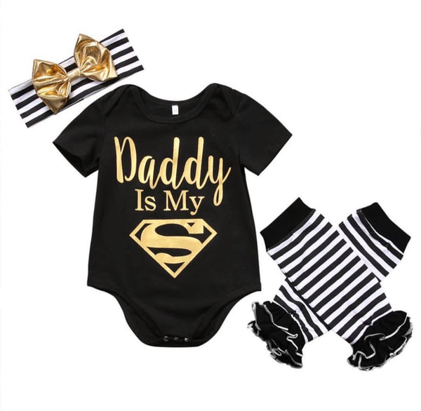 Daddy Is My Superman Set