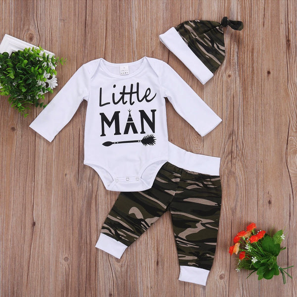Little Man Camo Set