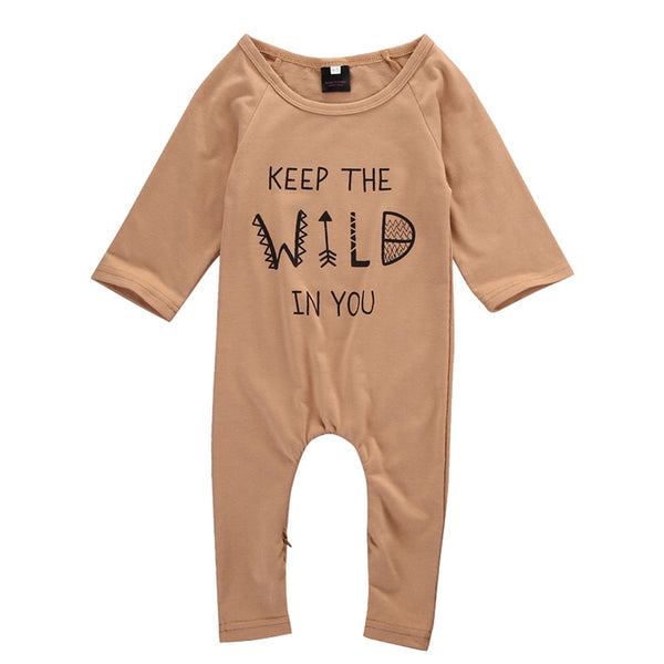 Keep The Wild In You Romper