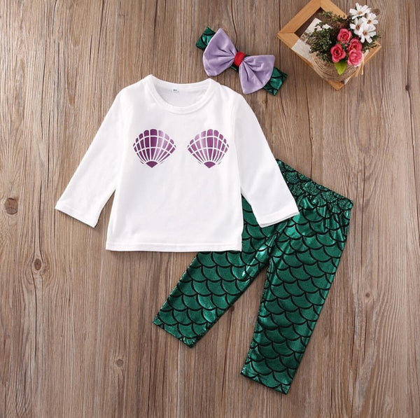 I'm A Mermaid 3 pc Set