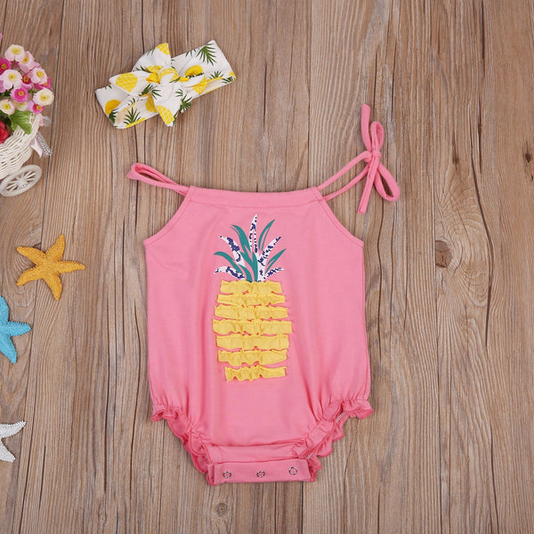 Pink Pineapple Set