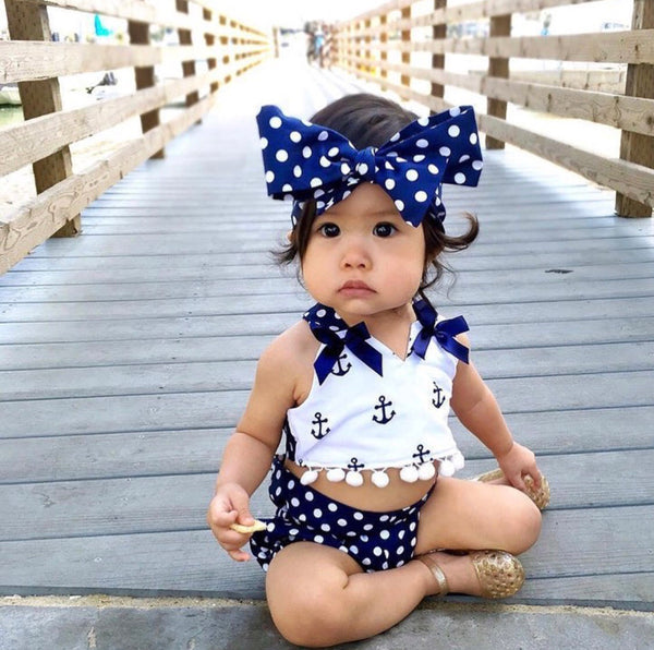 Anchor Pom Pom 3 pc Set