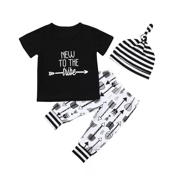 New To The Tribe Monochrome Set