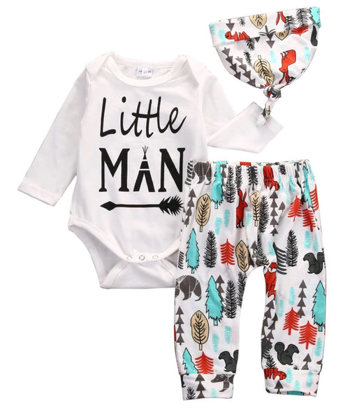 Little Man Tribe Set