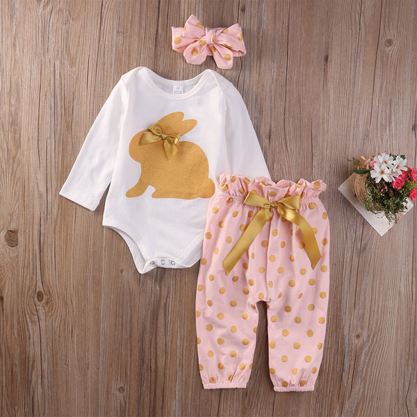 3 pc Bunny Set