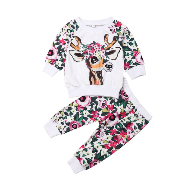 Bambi Floral Forest Set