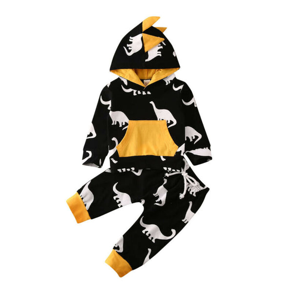 Land Of Dinos Hoodie Set