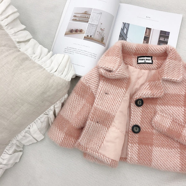 Poppy Plaid Coat