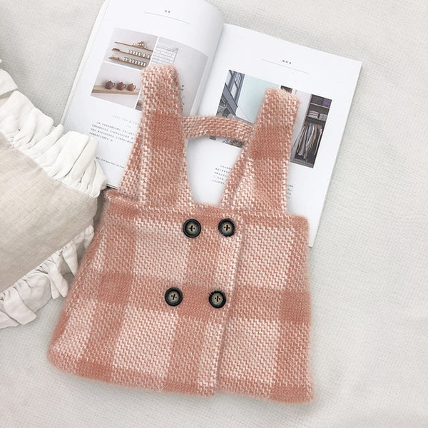 Poppy Plaid Overall