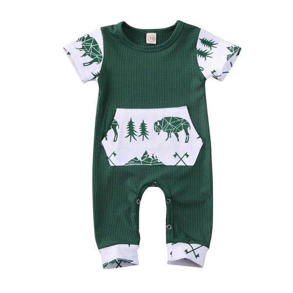 Buffalo Crossing Romper