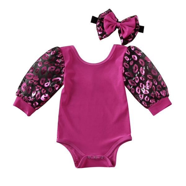 Kisses Romper Set