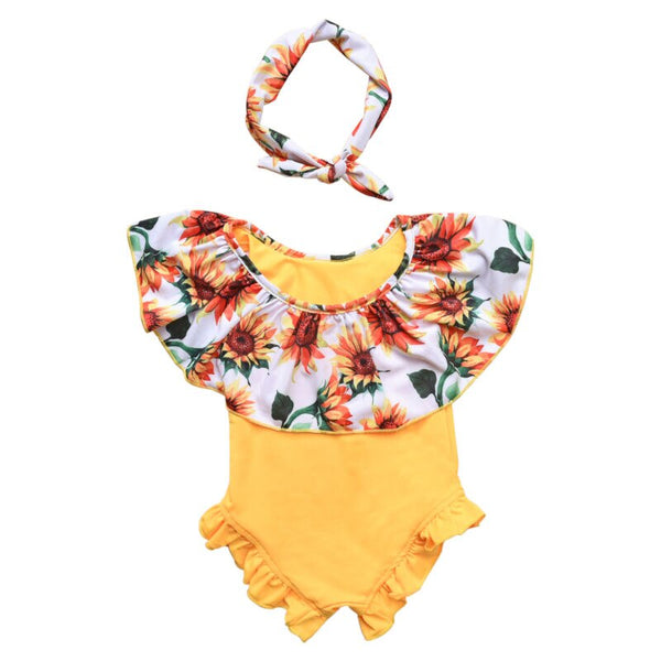 Sunflower Field Swimsuit