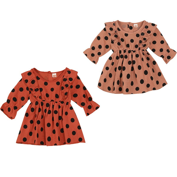 Polka Dot Autumn Dress