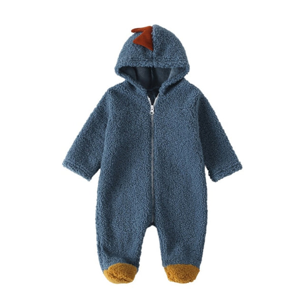 Dinosaur Fleece Romper