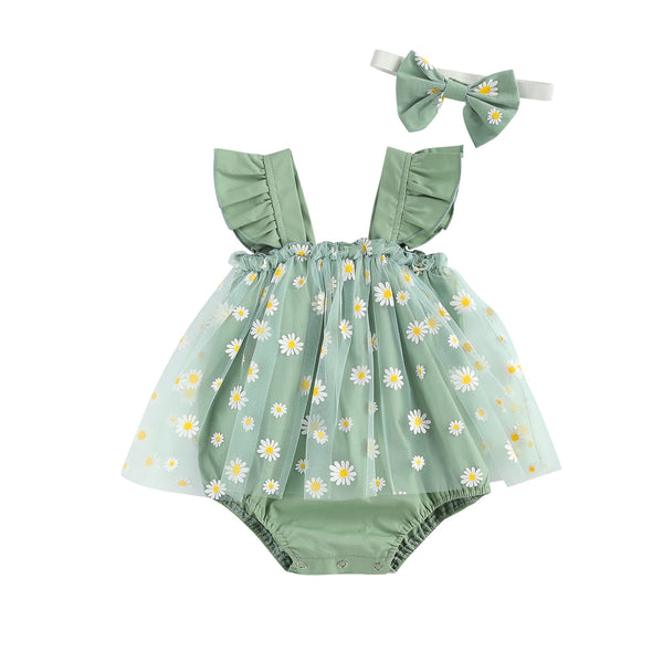 Frilly Floral Set