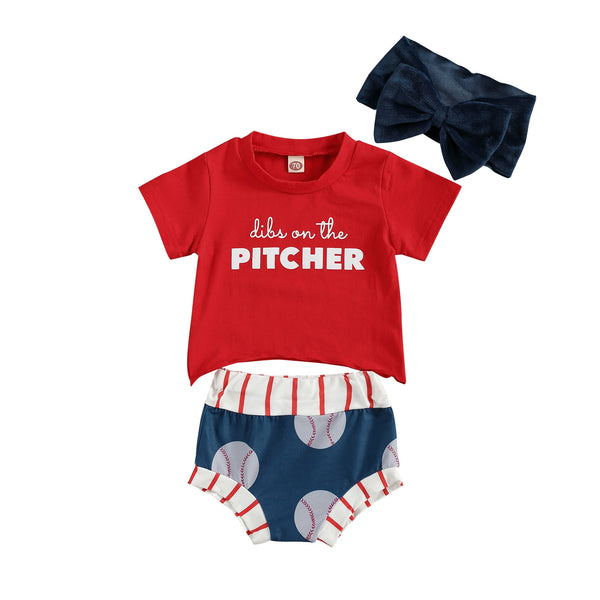 Dibs On The Pitcher Set